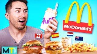 Americans Try McDonald's International Menu: Taste Test