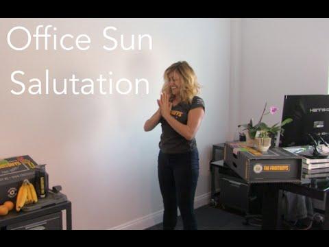The Desk Sun Salutation - The FruitGuys