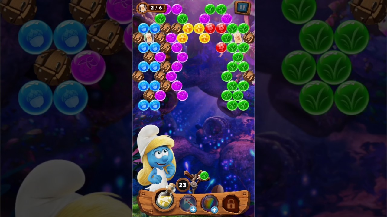 Play Smurfs Bubble Story on PC 2
