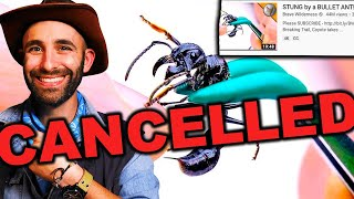 EXPOSING COYOTE PETERSON aka BRAVEWILDERNESS! (Bullet ant sting)