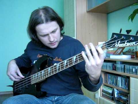 Black Sabbath evil woman bass cover