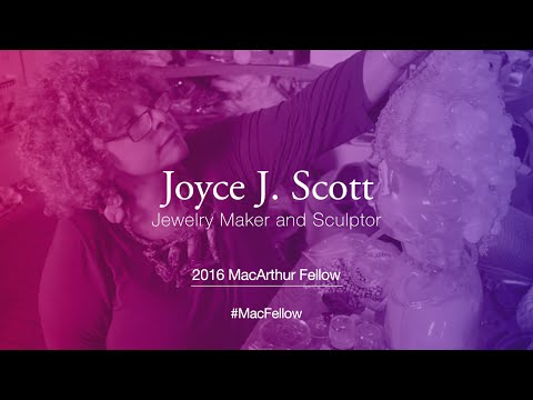 Jewelry Maker and Sculptor Joyce J. Scott | 2016 MacArthur Fellow