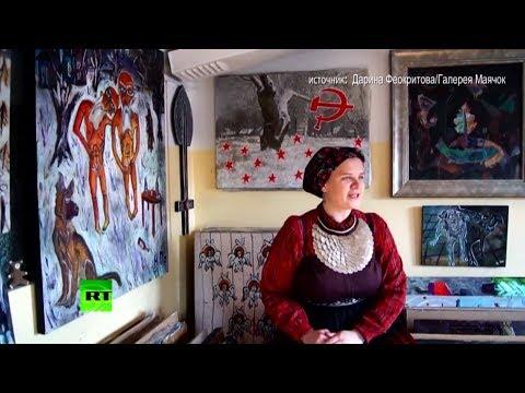 Девушка из Омска перепела «Всё идёт по плану» на русский народный лад
