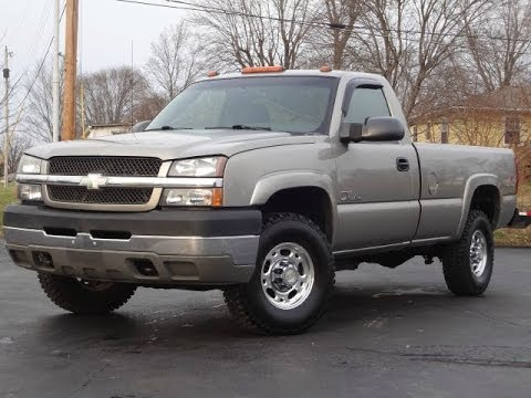 2003 Chevy Silverado 2500HD LS 4x4 REGULAR CAB DURAMAX ...