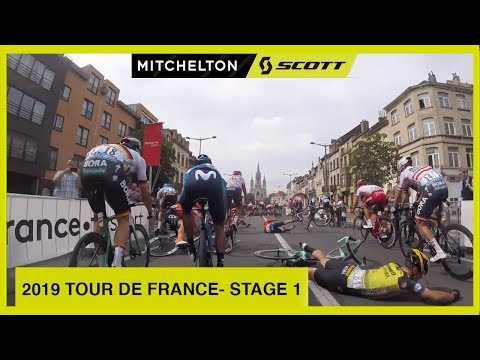 OPENING CHAOS | 2019 TOUR DE FRANCE - STAGE 1