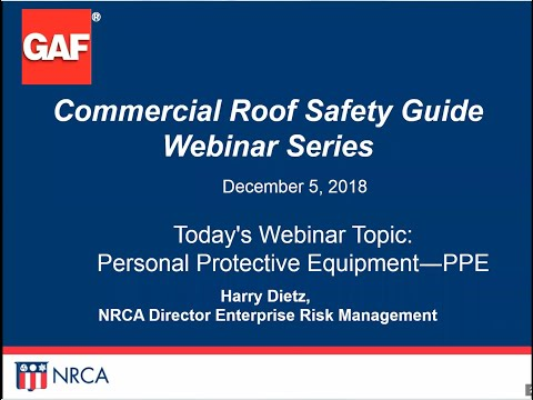 Avoid OSHA PPE Fines – An NRCA Webinar