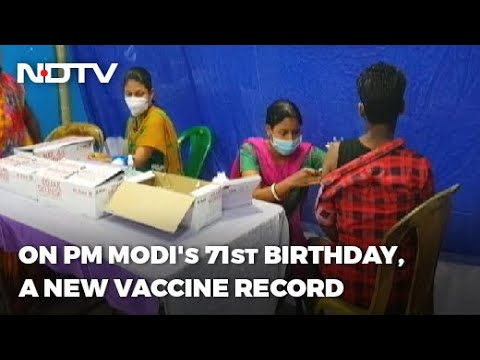 "Coronavirus Vaccination: Record 2 Crore Jabs So Far, Government Aims At Birthday ""Gift"" For PM"