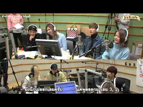 160303 [Thai Sub] Kiss The Radio with Mark, BamBam, Amber, Sana, Momo, Sorn [3/6]