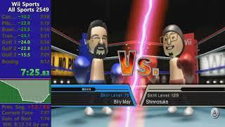 *World Record* Wii Sports All Sports speedrun in 7:54