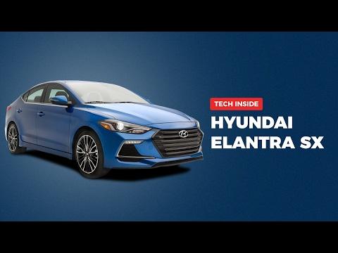 Hyundai Elantra SX 2.0 Litre Petrol (2016) - The Tech Inside   Digit.in