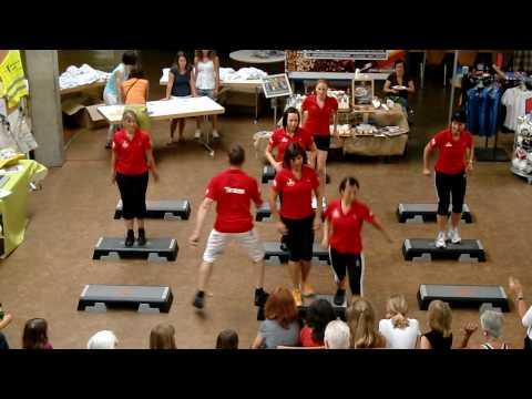 mad-fitness// 2 Auftritt PASTA PARTY 2010