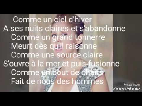 Lara Fabian-Deux ils Deux elles Paroles