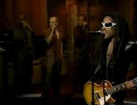 Lenny Kravitz-David Letterman Show-