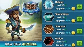 Admiral Heroer Spotlight BAHA Battle Arena Heroes Adventure