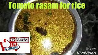 Tomato rasam//టమాటో రస౦//టమాటో చారు//simple and tasty tomato chaaru /rasam