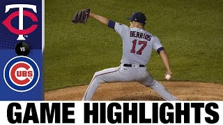 Max Kepler leads Twins to 4-0 win with homer, 3 RBIs | Twins-Cubs Game Highlights 9/20/20