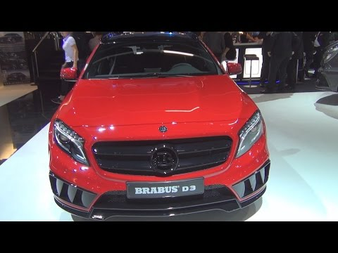 Mercedes-Benz GLA 220 4MATIC Brabus D3 (2016) Exterior and Interior in 3D