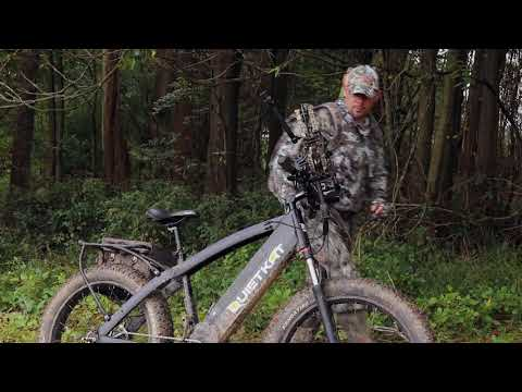 video QuietKat 2019 Apex 1000W Electric Bike for Backcountry