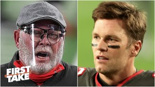 Tom Brady or Bruce Arians: Who is the Bucs' problem? First Take debates