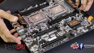 ประกอบเครื่อง Xeon 2 CPUs รอเทส !!