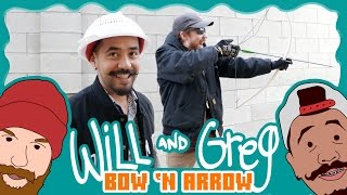 Will & Greg Show: Homemade Bow & Arrow (Ep. 6)