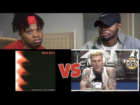 MGK .VS. G-EAZY   Both Disses!! - REACTION