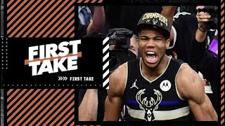 Giannis' closeout game wasn't the best in Finals history - Stephen A. & Max agree | First Take