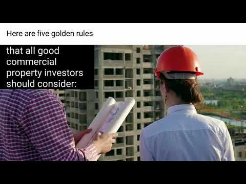Five Golden Rules: How to Invest in Commercial Real Estate in Ingleburn