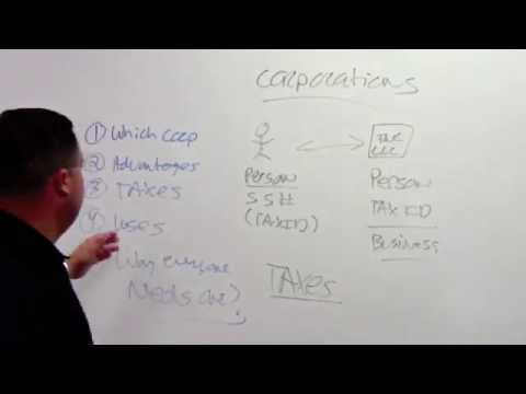 Corporations: Uses, Advantages, Taxes and Why Everyone Should Have One