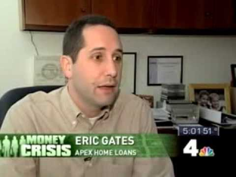 Artificial Low Rates - Eric Gates of Apex Home Loans on NBC Channel 4