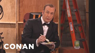Bob Odenkirk's Commercial For Geebles' Wet Pea Comestibles - CONAN on TBS