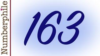 163 and Ramanujan Constant - Numberphile