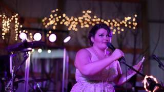 Chelsey's Epic Wedding Speech ever to Katie & Jeff  best