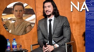Did Adam Driver Just Say Who Rey Really Is??