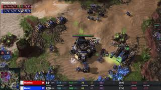 EPIC - Bunny (T) v Scarlett (Z) on King's Cove - StarCraft 2 - Legacy of the Void 2019