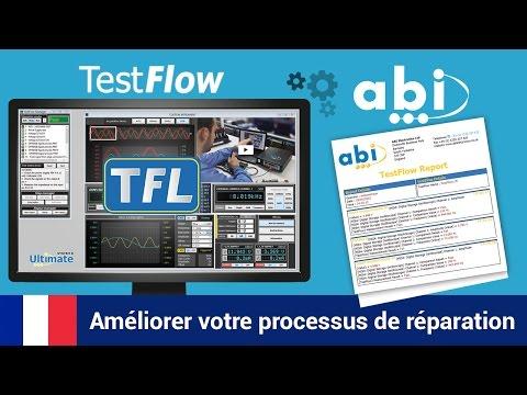 Enregistrer et rappeler les informations de test et de réglages avec TestFlow d'ABI