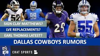 Cowboys Rumors: Leighton Vander Esch Replacements? Sign Clay Matthews, Earl Thomas, Damon Harrison?