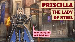 King's Raid - Priscilla the Lady of Steel Review