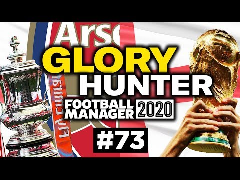 GLORY HUNTER FM20   #73   DOUBLE DUTY!   Football Manager 2020