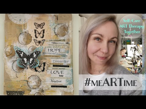 #meARTime Self-Care Art Journaling #1 ♡ Maremi's Small Art ♡