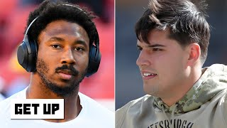 Myles Garrett's racial slur accusation is ugly for the NFL - Jonathan Vilma | Get Up