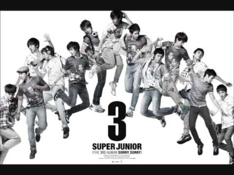 [Audio] Super Junior - S0RRY S0RRY (REMIX VERSION) PART 2