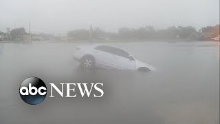 Remnants of Tropical Storm Imelda slam southeast Texas