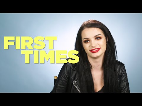 WWE All-Star Paige Tells Us About Her First Times
