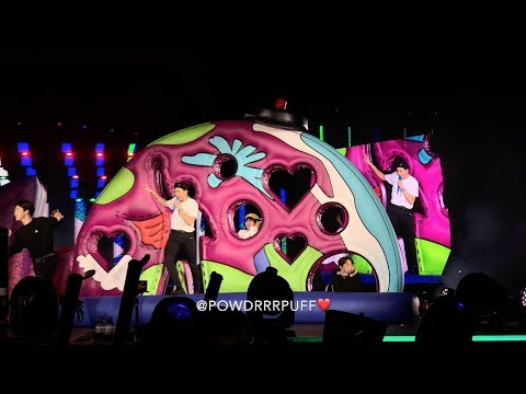 190505 - Anpanman + So What - BTS 방탄소년단 - Speak Yourself Tour - Rose Bowl D2 - HD Fancam - 직캠