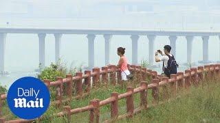 World's longest sea crossing bridge in Hong Kong ready to open