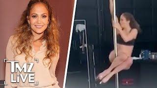Jennifer Lopez Is A Sexy Pole Dancer Now   TMZ Live