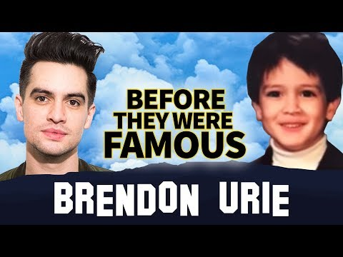Brendon Urie | Before They Were Famous | Panic! At the Disco, ME!