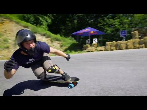 Downhill Longboarding Madness w/ No Hands Allowed!
