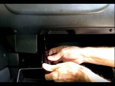fuse box on 1999 cadillac deville glove    box    removal youtube  glove    box    removal youtube